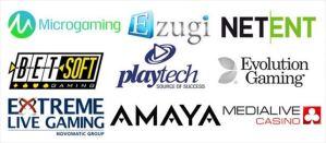 オンラインカジノソフトウェア