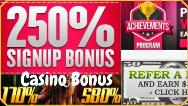 250% Welcome Online Casino Bonus