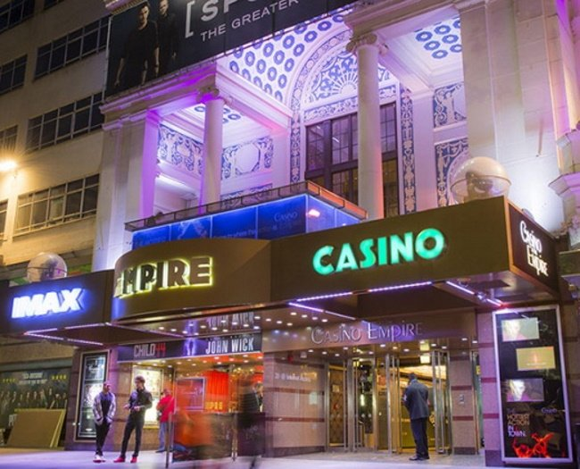 Casino at the Empire, London, UK