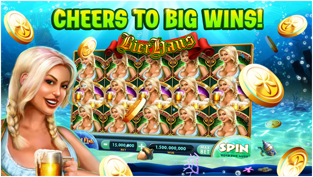 Gold Fish Casino slots tournaments to play for free