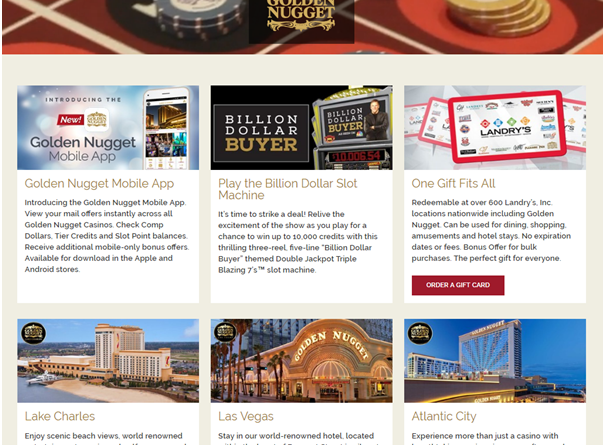Golden Nugget casino USA