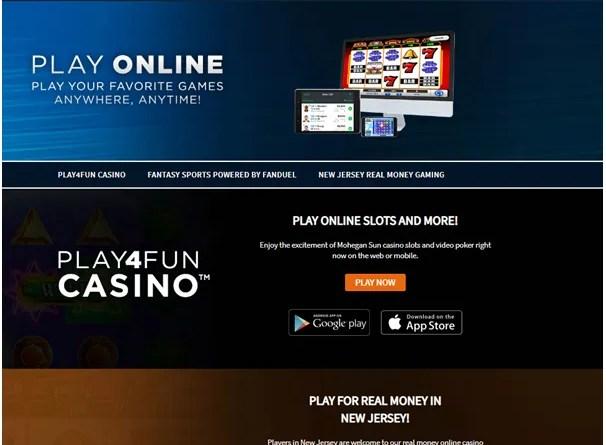 Mohegan sun Casino Online