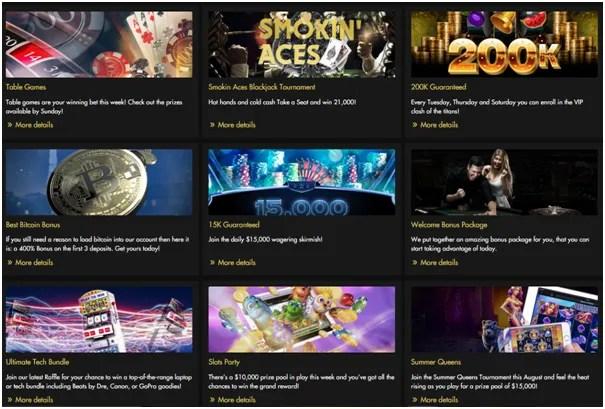 Rich Casino- Bonus