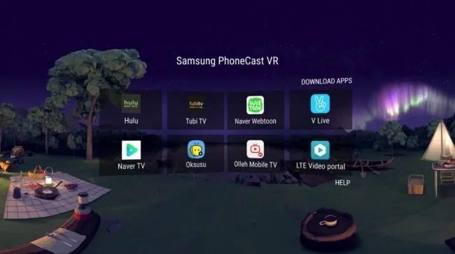 Samsung PhoneCast VR Beta
