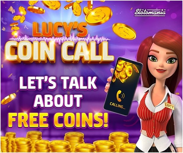 Free coins, dashes , medals and rewards are bonuses at Slotomania casino