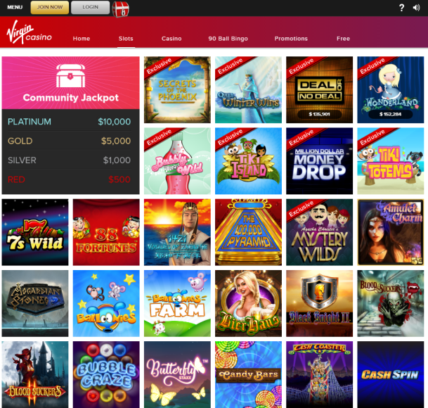 Virgin Casino Games