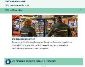 Webseite Kansspelautoriteit