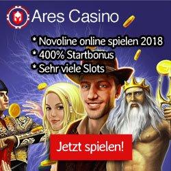 Novoline online spielen im ARES casino 2018