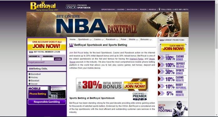 Royal Sports (betroyal.com) Spam Kings