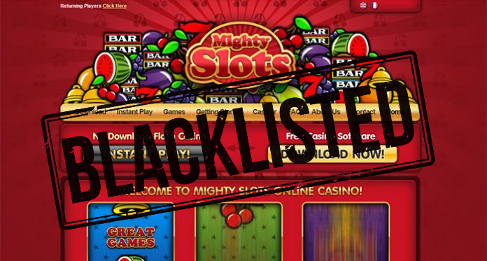 Mighty Slots Casino Scam – Blacklisted