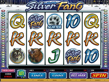Silver Fang Video Slot Game