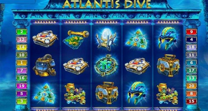 Atlantis Dive Slot Game