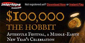 Intertops Online Casino's $100k The Hobbit Cash Prize Giveaway
