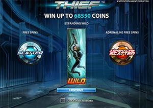 NetEnt's Latest Online Slot Release Thief™ is Set to Steal Show