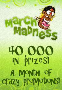 Fortune Lounge Online Casino's March Madness Bonus Giveaways
