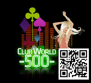 Club World Online Casino No Restriction Deposit Match Bonus