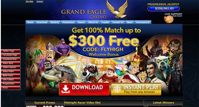 Grand Eagle Casino - Resolved