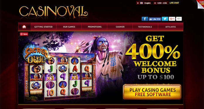 Warning: Avoid Casinoval.com