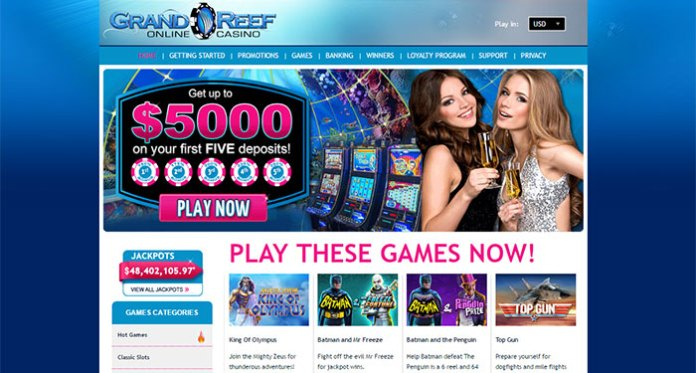 Grand Reef Casino Dispute - Resolved