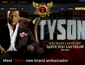 Boxing Legend Mike Tyson Named New Ambassador at 7Red Online Casino