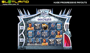 Slotland's Ice Queen Slot Pays Again on Huge Progressive Jackpot