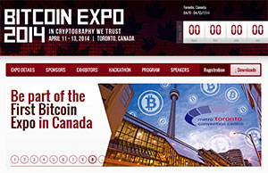 Online Gamblers Optimistic After Bitcoin Expo in Toronto Canada