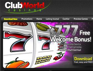 Club World Casino's Huge Progressive Jackpot Win