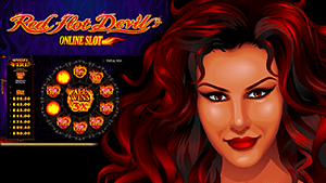 Seductive, Red Hot Devil Slot From Microgaming in October