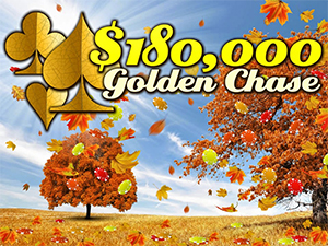 Win a Share of $30K at Intertops $180,000 Golden Chase