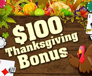 Intertops $100 Thanksgiving Bonus, Plus Join the Naughty List
