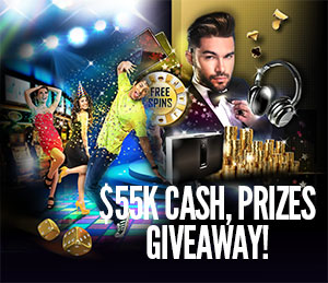 Celebrate the New Year, Jackpot Factory and $55,000 Cash