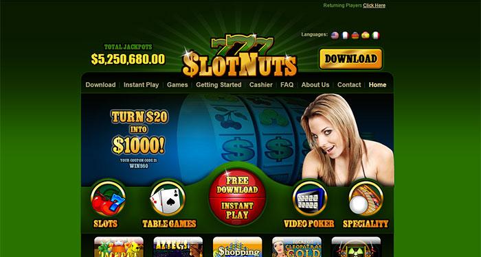 Slots Nuts Online Casino