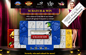 Scratch, Win Reload...with Jackpot Factory $150K Giveaway