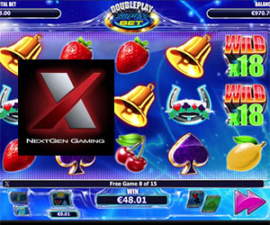 NextGen Gaming's Double Play Super Bet Slot