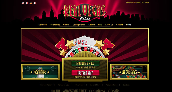 Real vegas online instant play