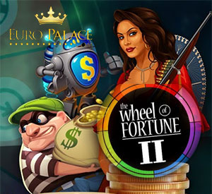 Spin the Wheel of Fortune II at Euro Palace, 100 Free Spins