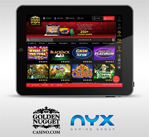 NYX, Golden Nugget Launch RMG in New Jersey
