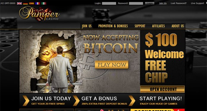 Pamper Casino Payout Complaint - Blacklisted