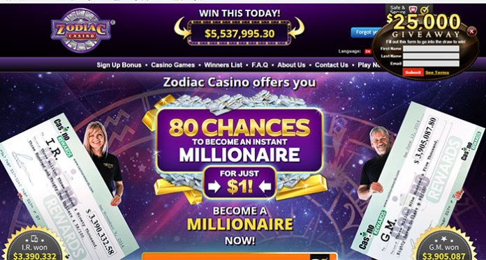 Zodiac Casino Complaint – Resolved