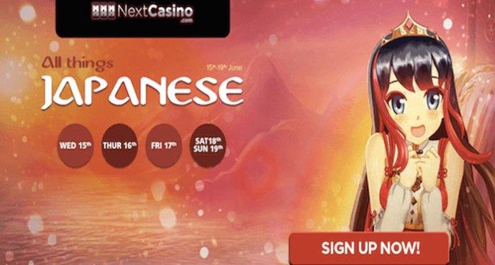 Enjoy All Things Japanese at NextCasino, Free Spins!