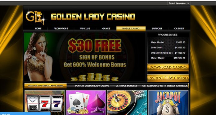 Golden Lady Casino Payout Complaint– Resolved