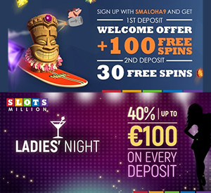 Slots Million Week of Specials for the Ladies and Gents!
