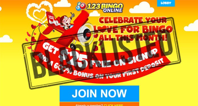 123 Bingo Online Scam