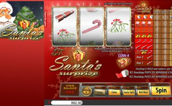 Free Play Demo of Santa's Surprize Slot