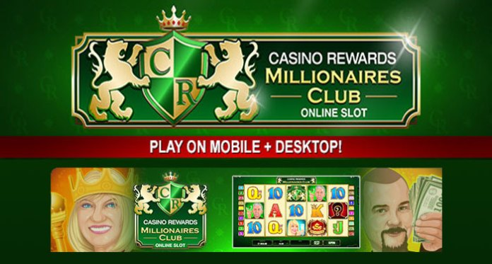 Play Casino Rewards Millionaires Club VIP Slot to Earn Double Points
