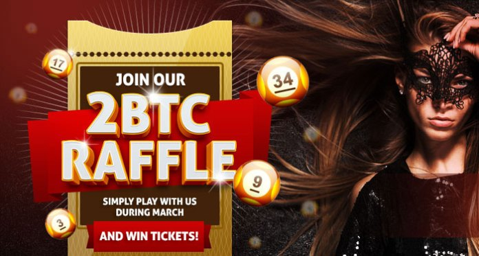 BitCasino.io's March 2,000 mBTC Raffle is Live, Win Your Share Now!