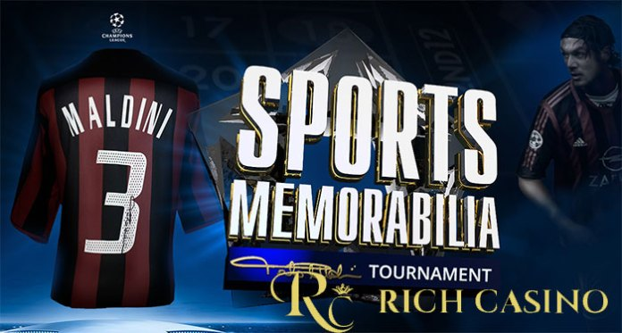 Rich Casino's Sports Tourney, Win an Exclusive Paola Maldini Signed Jersey