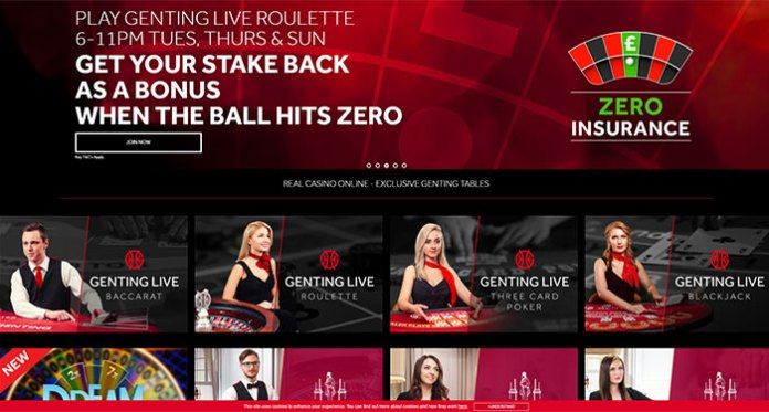 Get Your Stake Back at Genting Casino's Live Roulette Tables