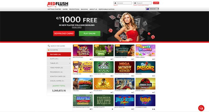 Three Winning Reasons Why You Should Play Red Flush Casino