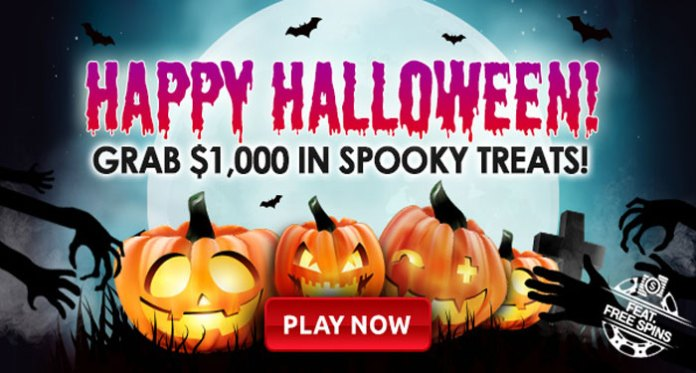 Enjoy a Weekend of Halloween Bonuses, Tournaments and Free Spins